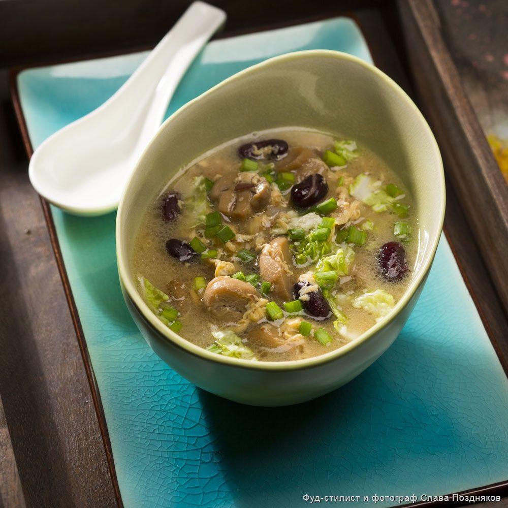 видео уроки рецепт супа с грибами