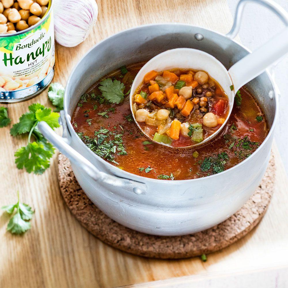 суп из консервированной чечевицы рецепт